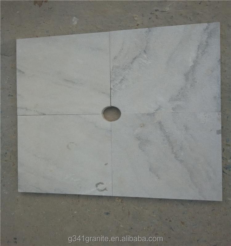 """24 """"x 24"""" bewolkt grijs marmeren tegels, gepolijst grijs wit ..."""