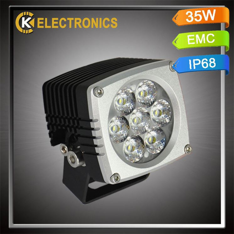Top quality factory price 6063 aluminum DC12V engineering van led working lights