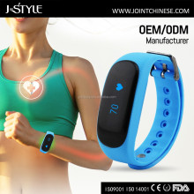 J-style Bluetooth Optical Light Heart Rate Monitor Smart Watch Sport Pedometer Calorie Counter Wristband