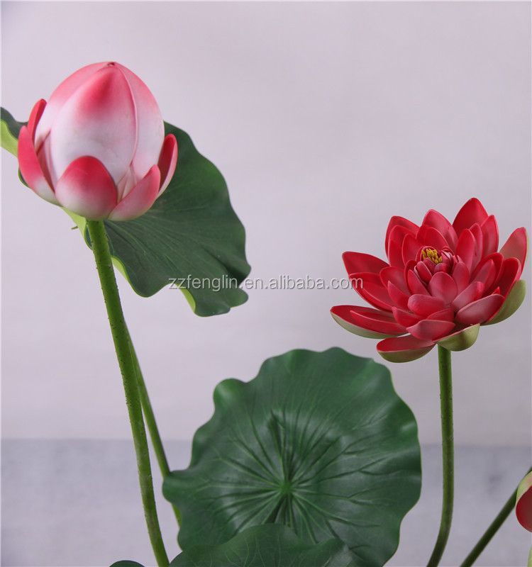 Nearly natural high quality artificial lotus flower wholesale nearly natural high quality artificial lotus flower wholesale artificial red lotus flower for indoor decorative mightylinksfo