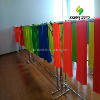 Wholesale All Colors Fluorescent Safety Vest Fabric/Fluorescent Workwear Fabric/Fluorescent Sportswear Fabric