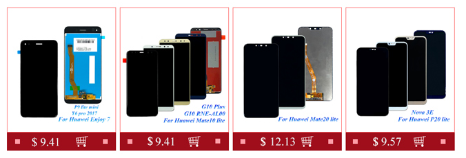 6.4 ''Cep Telefonu Dokunmatik Ekran LCD ekran Digitizer Meclisi Ile Huawei Nova için 4 LCD
