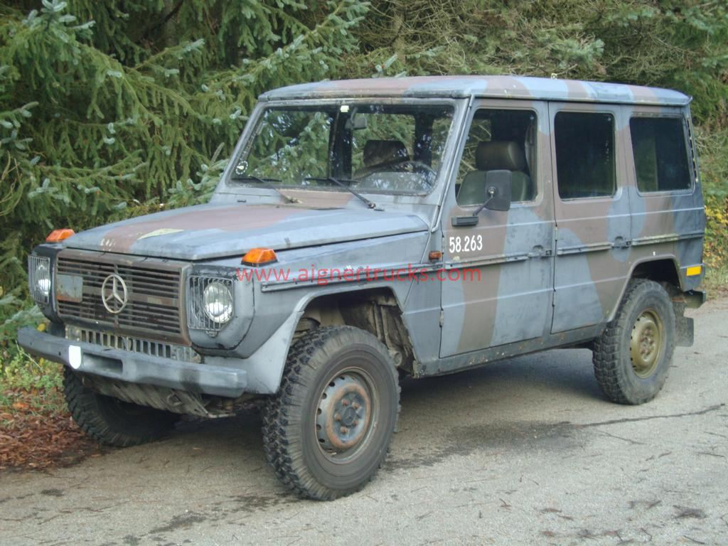 Mercedes G240 long version, ex army