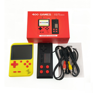 Family Home entertainment Wireless Golden China TV Game Console with 400 Classic Video Retro Games