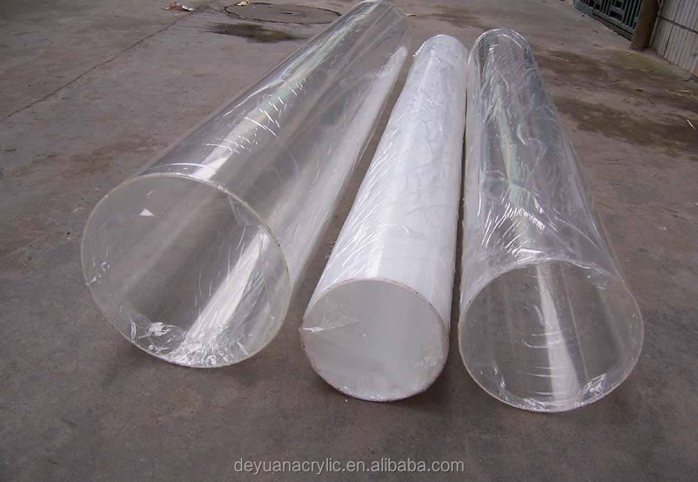 Custom Clear Acrylic Extrusion/ Acrylic Tube/ Pipe / Acrylic Lampshade