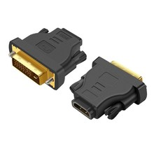 <span class=keywords><strong>DVI</strong></span> Ke HDMI Berlapis Emas 1080 P MALE To Female Adaptor