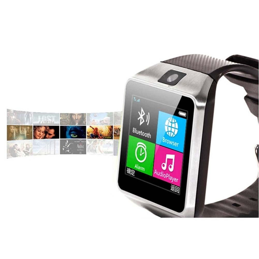 GV18 Bluetooth Smart Watch Watches GSM NFC Camera SIM Card For Android Phone