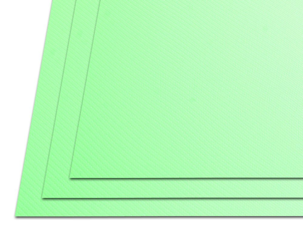 Holstex HolsterSmith Thermoform Sheet - .080 Gauge - Carbon Fiber/Tactical Textured - Zombie Green - 3 Pack