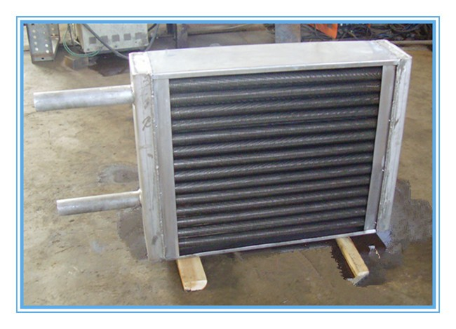 OEM radiator for dyeing machine with crimped fin