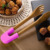 Natural Bamboo Kitchen Grill Tongs Food Clip with Removable Silicone Cover for BBQ & Salad and bread
