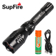 China SupFire Y3 q5 led rechargeable geepas torch