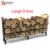 Kingjoy 8-Foot Outdoor Brandhout Log Rack