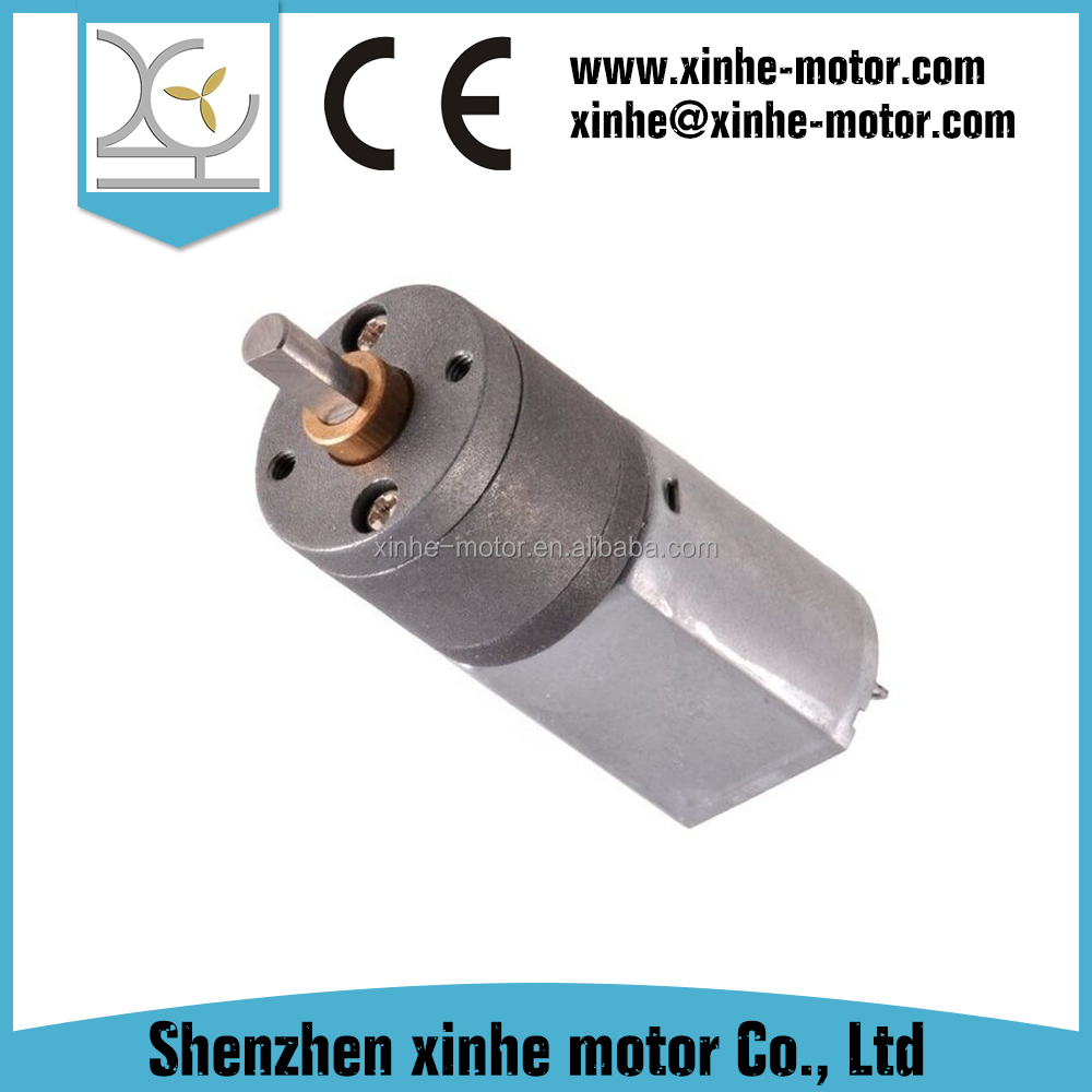 Chinese manufacturer 24 volt micro dc compact gear motor for toy