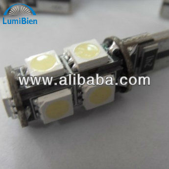 t10 9smd 5050 led canbus lighting car led lights bulbs bulb light auto lamp lamps long life time small order ok CE certificated