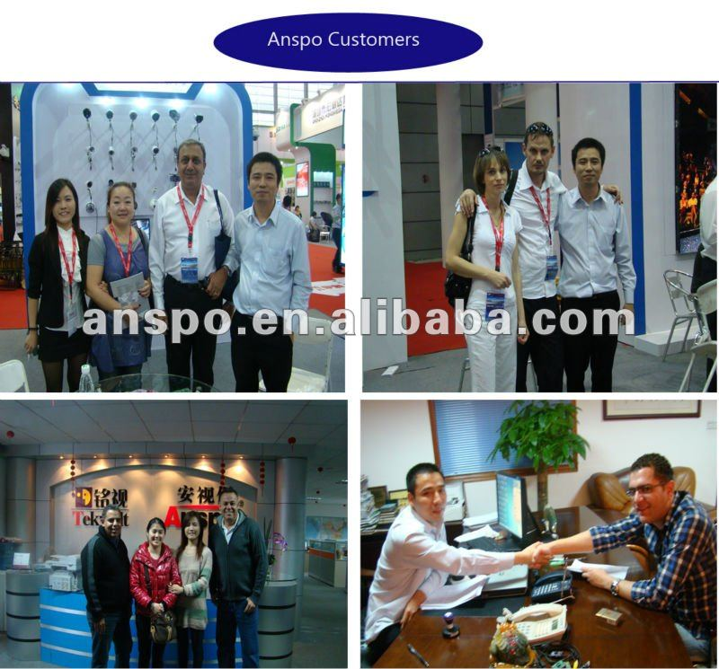 Guangzhou Anspo Security System H.265 IP Camera Mini 5.0MP High Definition P2P ONVIF IP Camera