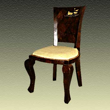 Dining Chair In Lotus