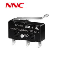 NNC micro switch NS-5W Simulated Roller Lever 5-10A 125v/250v hot selling products