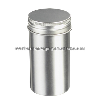 150g 50mm diameter empty cans for food hot sale aluminum cans with screw on lid buy cans for
