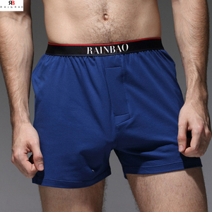 OEM fashion comfortable free sample men underwear with 95% cotton 5% elastic