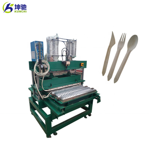 Professional disposal wooden spoon / fork making machine with stable  performance!