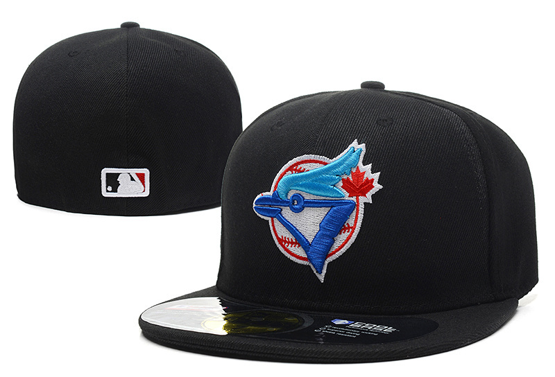 save off 7674f f5ca2 Get Quotations · High quality Wholesale Cheap Men s full Closed Toronto  Blue Jays fitted hat sport team casquette baseball
