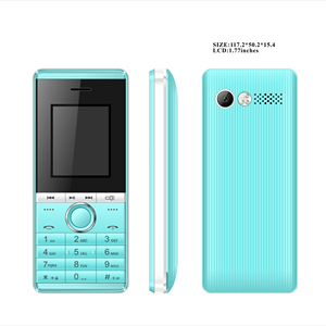 China factory wholesale 1 77 inch simple function bar phone with big  battery feature phone