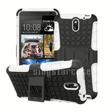 Wholesale Spider Tire Pattern Heavy Duty Shockproof Kickstand Case for HTC One ME