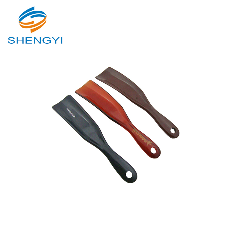 Extra long foldable cow disposable custom shoe horn bottle opener