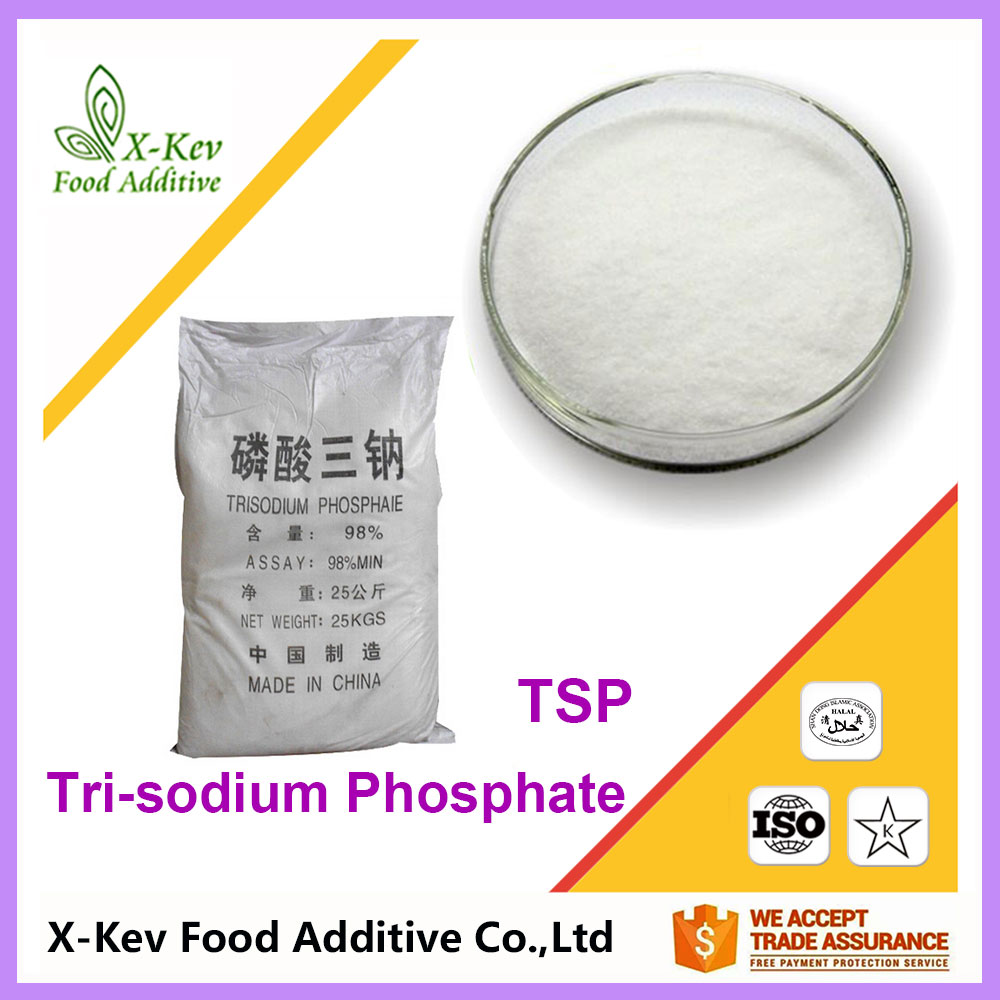 good price food additive Modified agent TSP Trisodium phosphate anhydrous