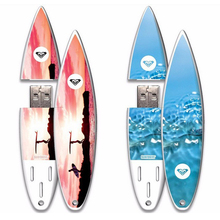 Lovely Promo Gifts Surfboard Ice Skate USB Flash Drive Custom Logo
