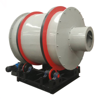 Industrial Rotary Small Silica Sand Dryer