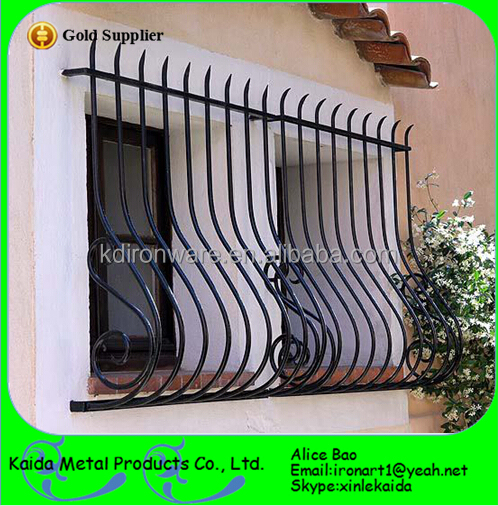 Simple Beautiful Hous Window Grill Design