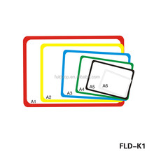 FLD-K1 High quality supermarket abs a frame for price display