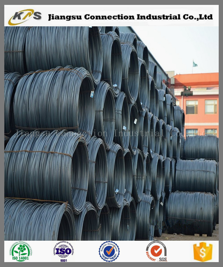 12mm Galvanized High Carbon Steel Wire Rod Price In Coil - Buy ...