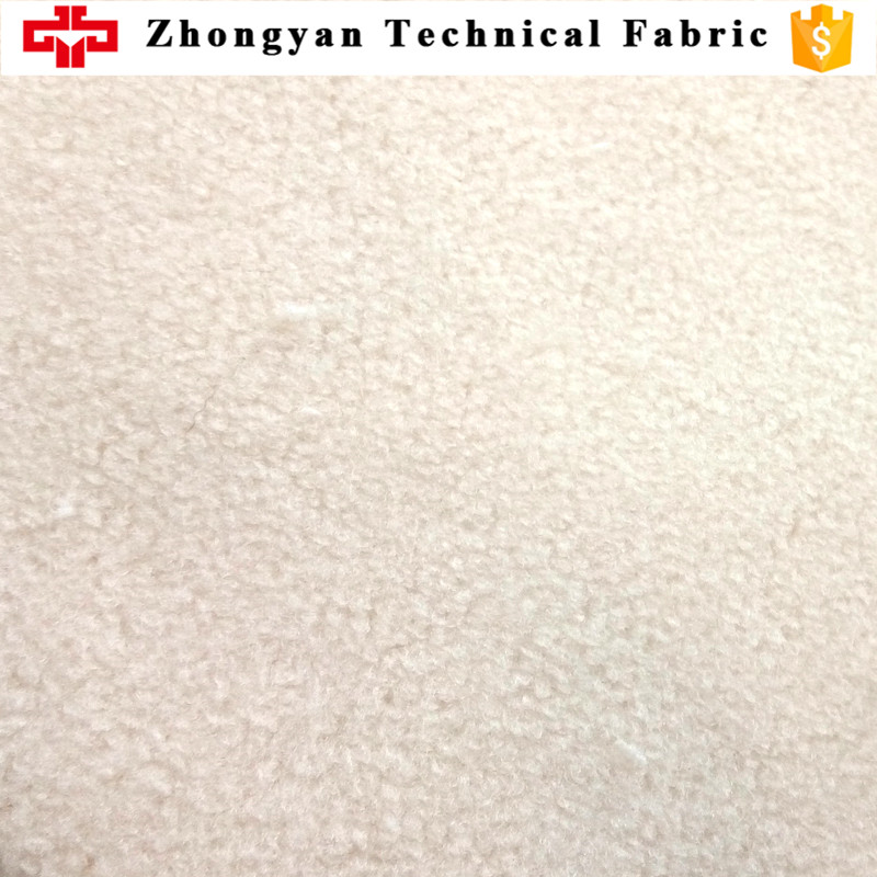 2 layers poly fleece water absorption anti-bacterial waterproof fabric