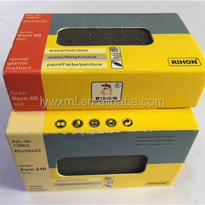 Rubber Abrasive Block for grindin and polishing