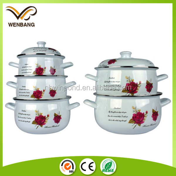 China wholesale good quality kitchen cooking enamel ware