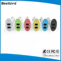 0.5-36w wall mounted 12v 2a output usb car charger