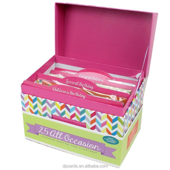 Wholesale Handmade Birthday Cards All Occasion Greeting Box Set