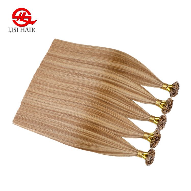 Pre Bonded Human Hair Bundles u Tip Hair Extension
