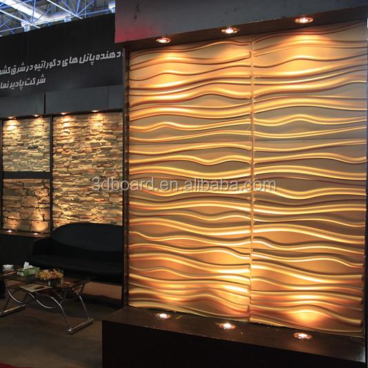 Paintable Wall Covering Panels Art Deco For Restaurants S Decoration Bathroom Plastic