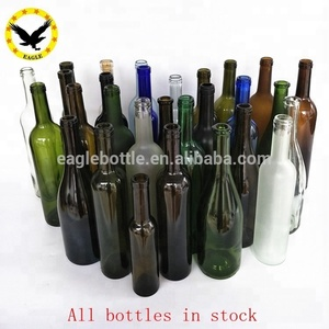 cheap empty 375ml 500ml 750ml bulk wine bottles / unique wine bottles