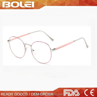 Fashionable decoration no brand alloy optical frame