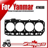 4TNE88 head gasket for Yanmar tractor parts
