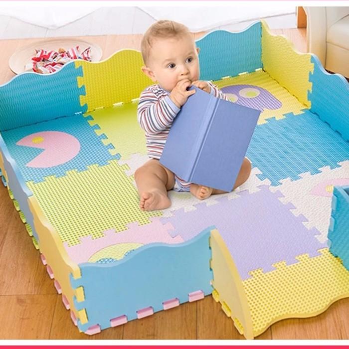 creative figures eva mat nontoxic baby foam tiles soft japanese tatami mat