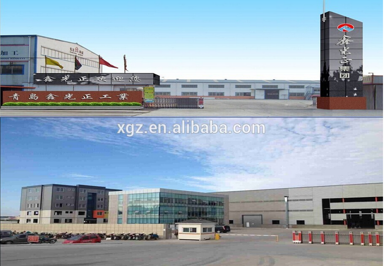Customized Prefabricated Steel Structure Building