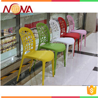 Wholesale outdoor furniture general used full HDPE plastic stackable garden style no folded portable ABS beach chairs for sale