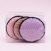 Cotton Makeup Pads Chemical Free Cleansing Towel Wipes Facial Clean Skin Care Reusable Soft Microfiber Makeup Remover Pads