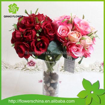 Guangzhou factory wholesale wedding bouquet with silk artificial guangzhou factory wholesale wedding bouquet with silk artificial flower rose mightylinksfo