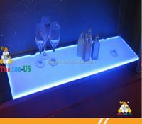 acrylic lighting display shelf for display rack in store/LGP